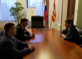 """The """"Combat Brotherhood """" held the meeting with the first deputy governor of Chelyabinsk region."""
