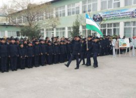 "The pupils of ""TURON PATRIOT"" participate in military sports events."