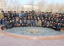 Город Нукус широко отметил День вывода войск из Афганистана