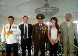 Встреча с ветеранами Объединения «VETERAN» Узбекистана