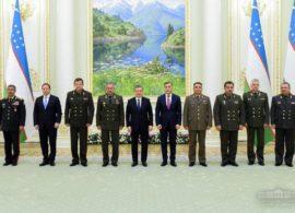 О встрече Президента Республики Узбекистан с главами оборонных ведомств государств-участников СНГ