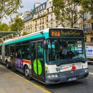 Автобус франция