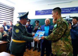 Встреча ветеранов с с киксбоксерами и учащимися военно-спортивной школы